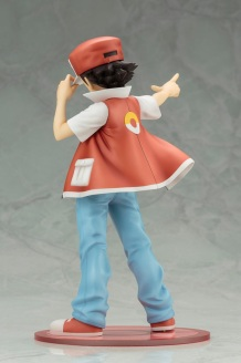 Kotobukiya ARTFX J Trainer Red With Pikachu Statue 4
