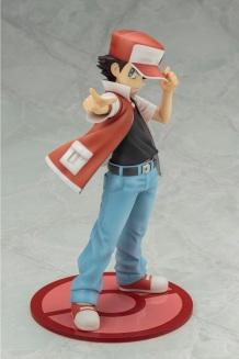 Kotobukiya ARTFX J Trainer Red With Pikachu Statue 5