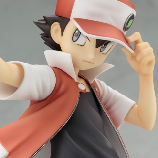 Kotobukiya ARTFX J Trainer Red With Pikachu Statue 6