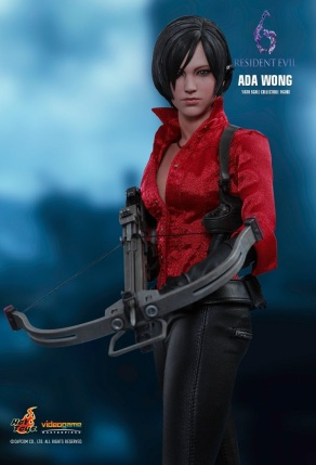 Resident Evil 6 20th Anniversary Hot Toys Ada Wong Figure 1