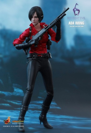 Resident Evil 6 20th Anniversary Hot Toys Ada Wong Figure 2