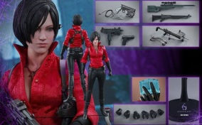 Resident Evil 6 20th Anniversary Hot Toys Ada Wong Figure 9