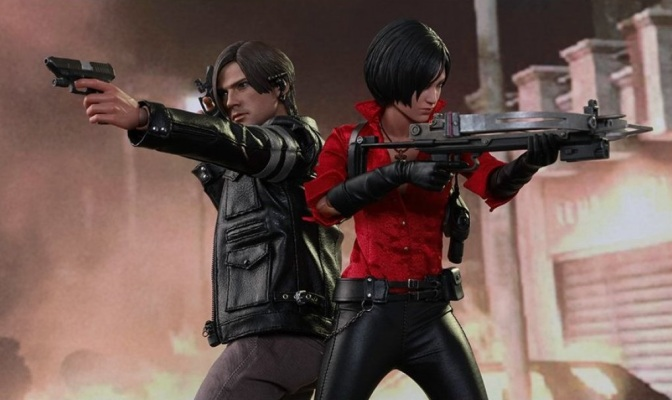 "'Resident Evil 6' ""Ada Wong"" and ""Leon Kennedy"" Figures Coming This Winter"