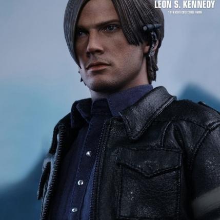 Resident Evil 6 20th Anniversary Hot Toys Leon Kennedy Figure 2