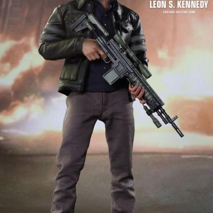 Resident Evil 6 20th Anniversary Hot Toys Leon Kennedy Figure 5