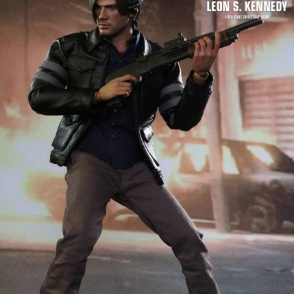 Resident Evil 6 20th Anniversary Hot Toys Leon Kennedy Figure 6