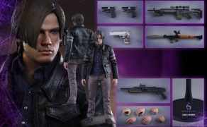 Resident Evil 6 20th Anniversary Hot Toys Leon Kennedy Figure 9