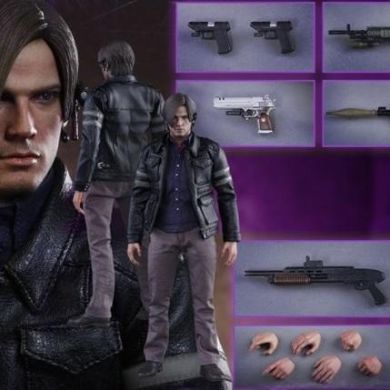 Resident Evil 6 20th Anniversary Hot Toys Leon Kennedy Figure 9