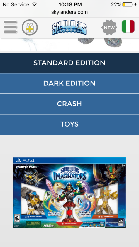 Skylanders Imaginators PS4-Exclusive Crash Bandicoot Mobile