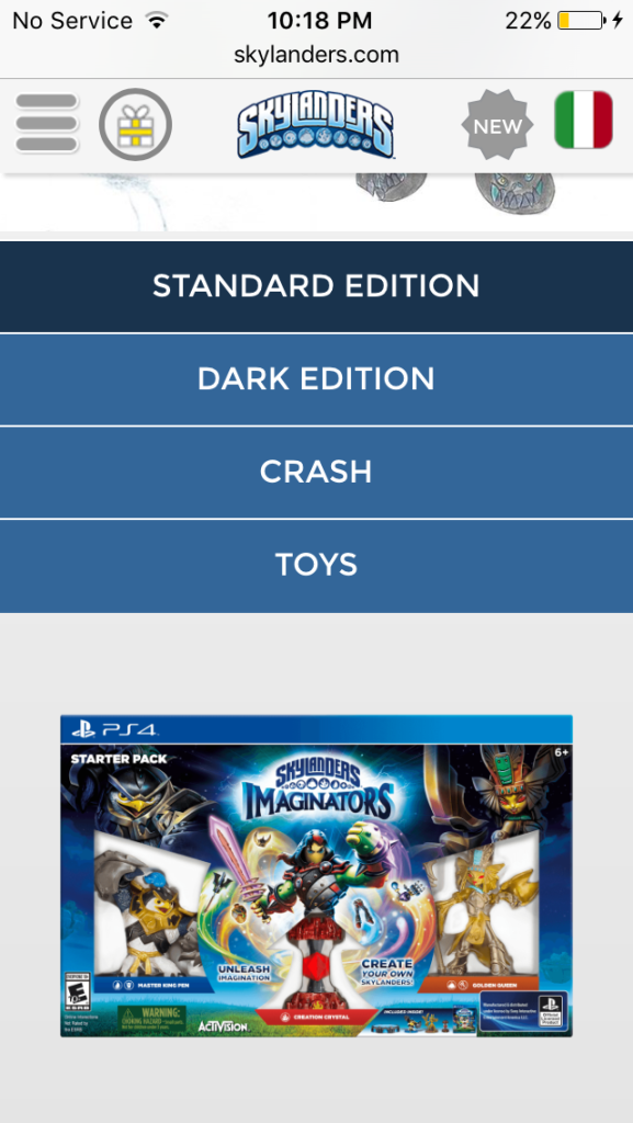 Skylanders Imaginators PS4-Exclusive Crash Bandicoot Mobile