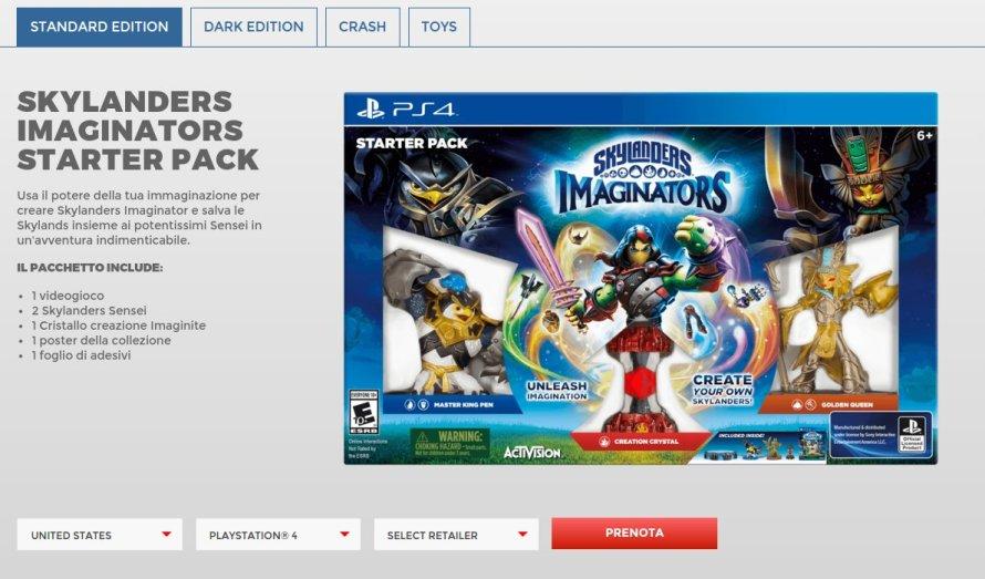 Skylanders Imaginators PS4-Exclusive Crash Bandicoot