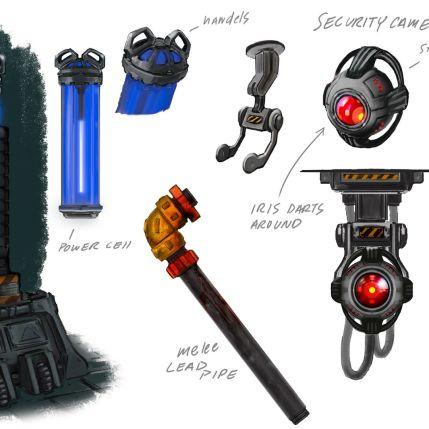 System Shock Kickstarter Concept Art 2
