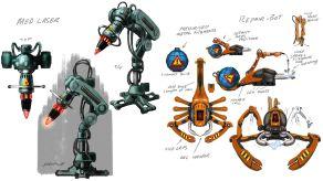 System Shock Kickstarter Concept Art 3