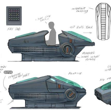 System Shock Kickstarter Concept Art 4