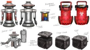 System Shock Kickstarter Concept Art 5