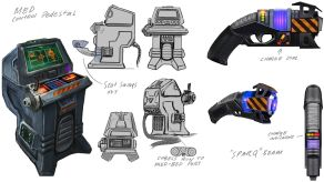 System Shock Kickstarter Concept Art 7