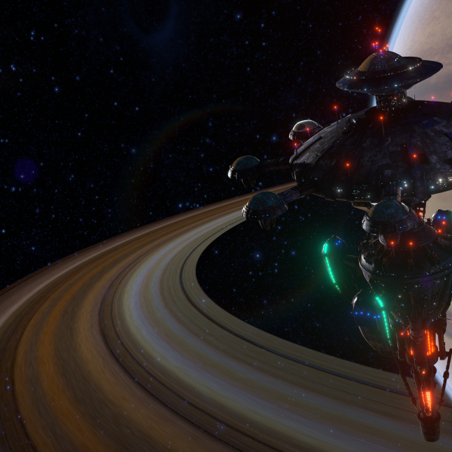 System Shock Kickstarter Screenshot 1 Citadel Station
