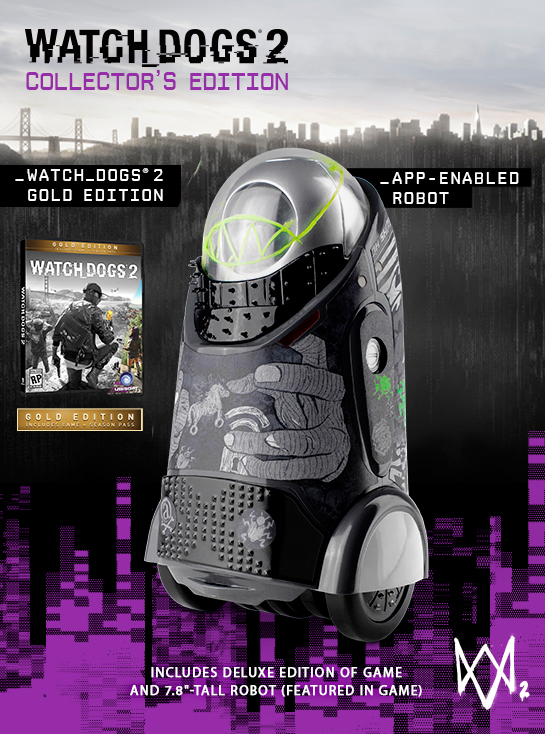 Watch_Dogs 2 Ubisoft Exclusive Collector's Edition