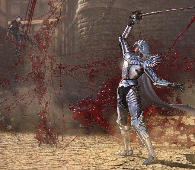 Berserk Griffith Gameplay Screenshot 3