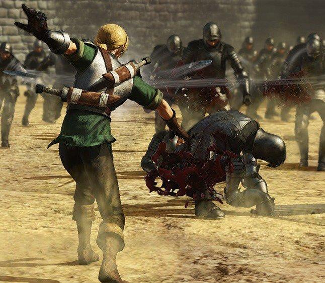 Berserk Judau Gameplay Screenshot 1