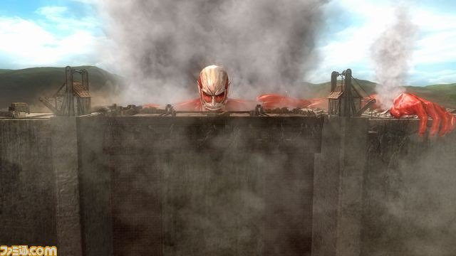 DOA5 Last Round Attack on Titan DLC Wall Rose Stage 1