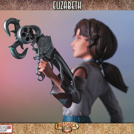 Gaming Heads Bioshock Infinite Elizabeth Statue 11