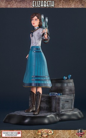 Gaming Heads Bioshock Infinite Elizabeth Statue 2