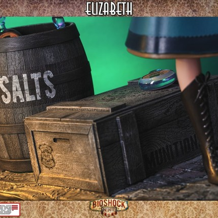 Gaming Heads Bioshock Infinite Elizabeth Statue 9
