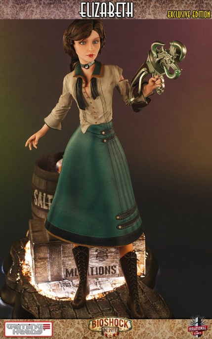 Gaming Heads Bioshock Infinite Elizabeth Statue Exclusive Edition 2
