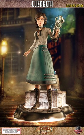 Gaming Heads Bioshock Infinite Elizabeth Statue Exclusive Edition 3