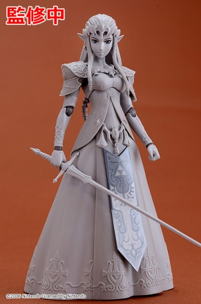 Good Smile Company Princess Zelda (Twilight Princess Version) Figma Figure Prototype