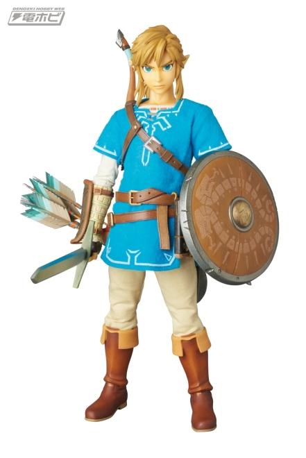 Medicom Zelda Breath Of The Wild Link Figure Promo Image 1