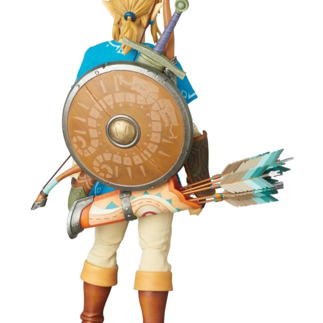 Medicom Zelda Breath Of The Wild Link Figure Promo Image 2