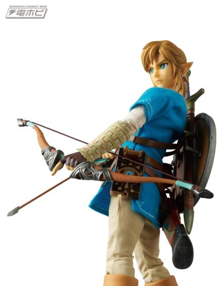 Medicom Zelda Breath Of The Wild Link Figure Promo Image 3