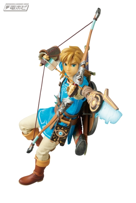 Medicom Zelda Breath Of The Wild Link Figure Promo Image 4