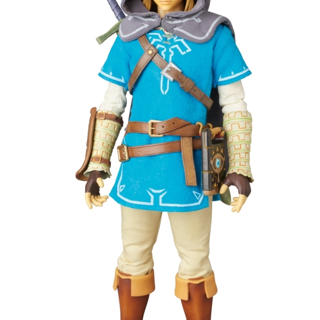 Medicom Zelda Breath Of The Wild Link Figure Promo Image 5