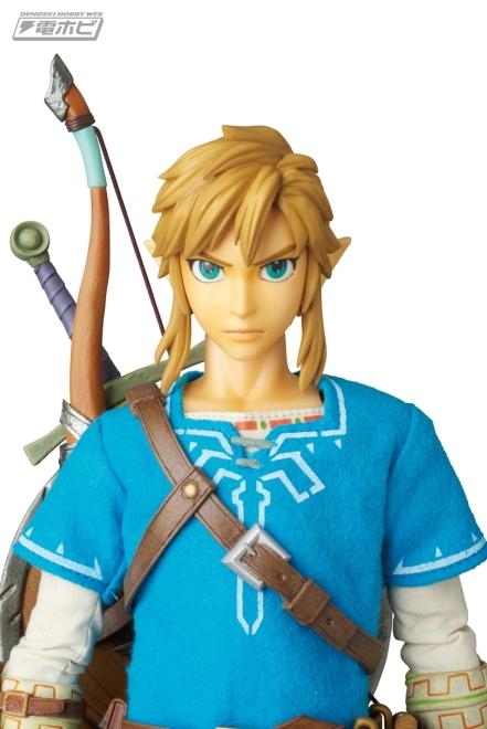 Medicom Zelda Breath Of The Wild Link Figure Promo Image 6