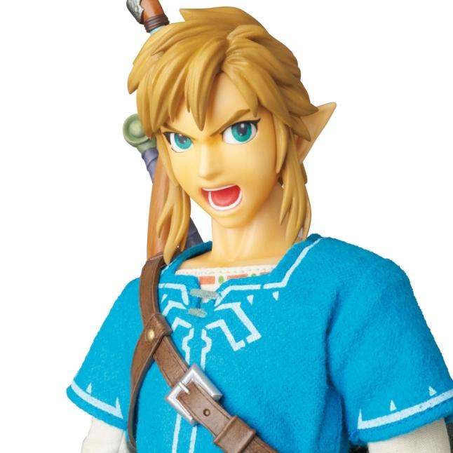 Medicom Zelda Breath Of The Wild Link Figure Promo Image 7