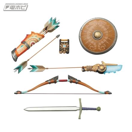 Medicom Zelda Breath Of The Wild Link Figure Promo Image 8