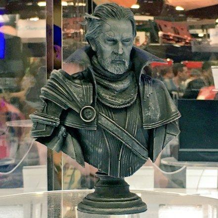 Square Enix SDCC 2016 Final Fantasy XV Static Arts Bust King Regis Prototype 1
