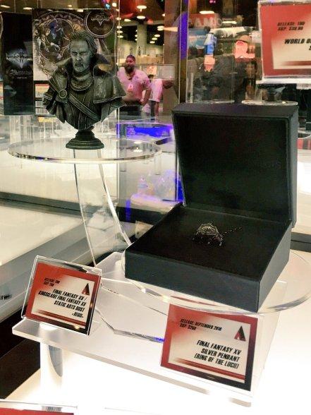 Square Enix SDCC 2016 Final Fantasy XV Static Arts Bust King Regis Prototype 2