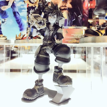 Square Enix SDCC 2016 Kingdom Hearts III Sora Prototype
