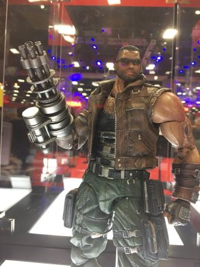 Square Enix SDCC 2016 Play Arts KAI Final Fantasy VII Remake Barret