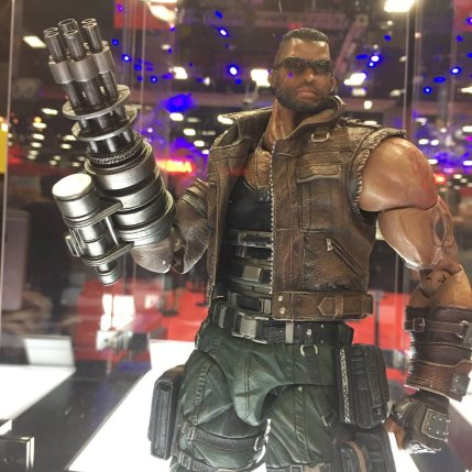 Square Enix SDCC 2016 Play Arts KAI Final Fantasy VII Remake Barret