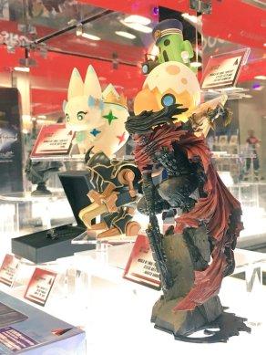 Square Enix SDCC 2016 Play Arts KAI Final Fantasy VII Vincent Valentine Prototype 2