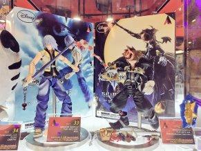 Square Enix SDCC 2016 Play Arts KAI Kingdom Hearts II Riku And Sora