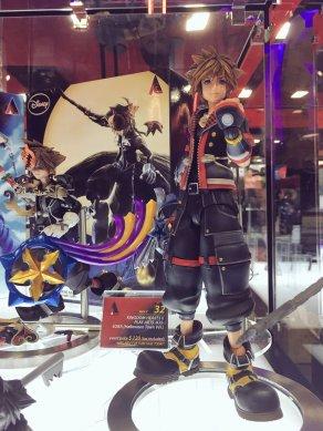 Square Enix SDCC 2016 Play Arts KAI Kingdom Hearts II Sora 1