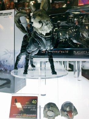Square Enix SDCC 2016 Play Arts KAI MGSV D-Dog