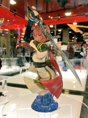 Square Enix SDCC 2016 Static Arts Bust Final Fantasy XIII Lightning Prototype