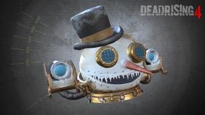 Dead Rising 4 Pre-Order Content Steampunk Snowman Head - GameStop